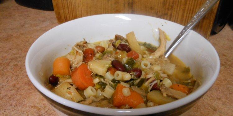 Turkey Soup Vegetables Food - Image: © Briana Blair