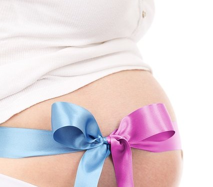 Baby Boy Girl Ribbon Pregnant Mother - Image: Public Domain, Pixabay
