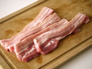 Bacon Uncooked Thick