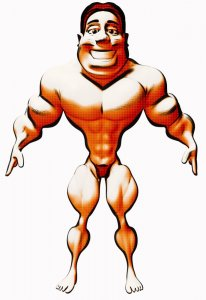 Body Builder Man Muscle