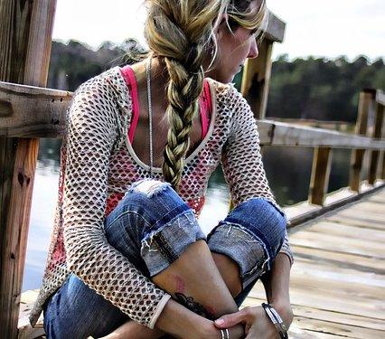 Braid Hair Blonde Woman - Image: Public Domain, Pixabay