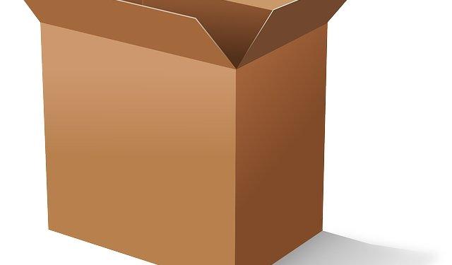 Cardboard Box - Image: Public Domain, Pixabay