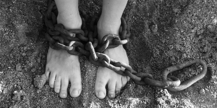 Chains Feet Person Shackles