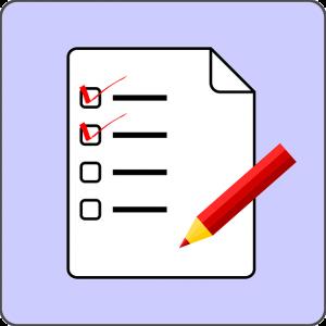 Check List paper - Image: Public Domain, Clker