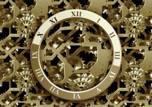 Clock Gears Gold - Image: Public Domain, Pixabay