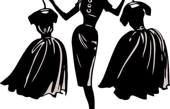 Clothes Woman Dress Fashion - Image: Public Domain, Pixabay