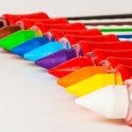 Crayons Colors Rainbow Variety - Image: Public Domain, Pixabay