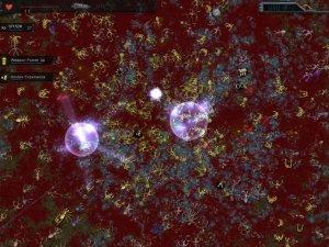 Screenshot: Crimsonland