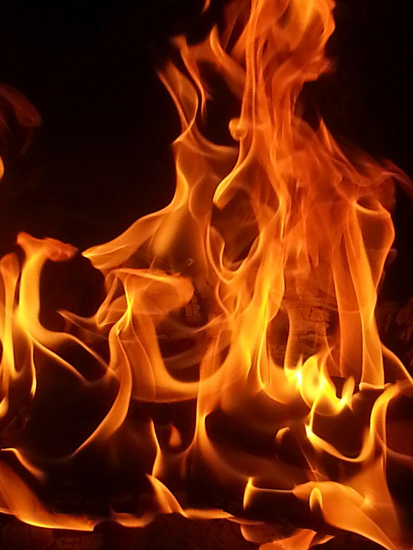 для красивые огненные картинки кайли