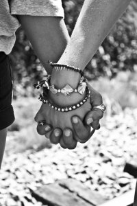 Holding Hands Friends Love