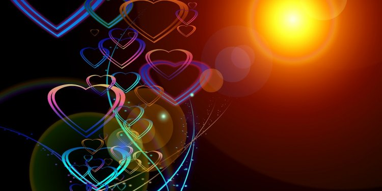 Love Hearts Light Image: Public Domain, Pixabay