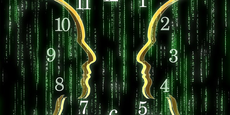 Matrix Face Time Clock - Image: Public Domain, Pixabay