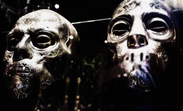 Monster Masks Demon Face