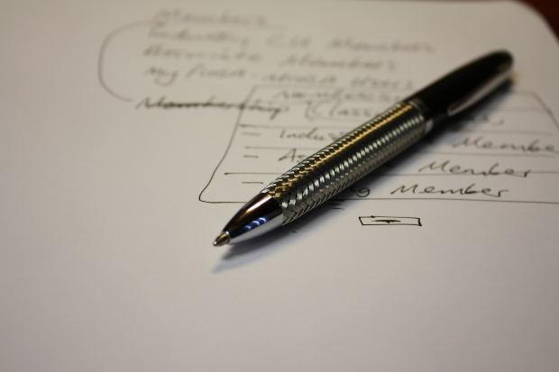 Pen Paper Writing - Image: Public Domain, Morguefile