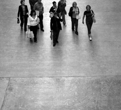 People Monochrome - Image: Public Domain, Morguefile