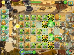 Screenshot: PVZ: It's About Time on Android