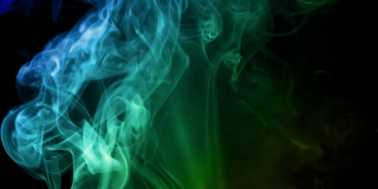 Random Abstract Smoke Swirl - Image: Public Domain, Pixabay