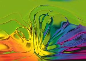 Random Paint Swirl Colors