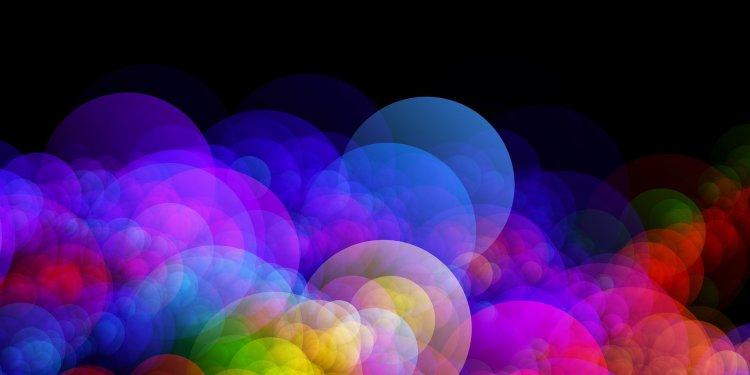 Random Rainbow Bubbles - Image: Public Domain, Pixabay
