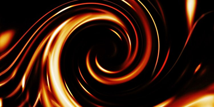 Random Spiral Orange Swirl Image: Public Domain, Pixabay