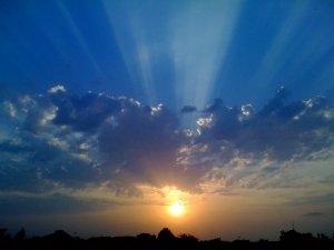 Random Sun Sky Clouds