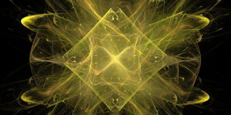 Random Yellow Fractal - Image: Public Domain, Pixabay