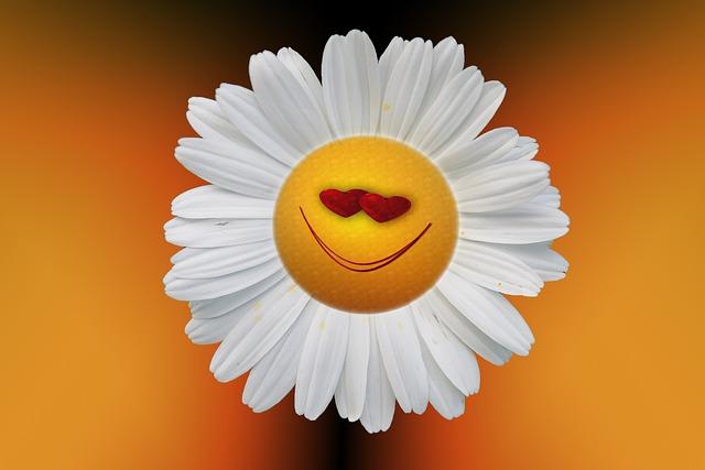 Smiley Flower Happy Image: Public Domain, Pixabay