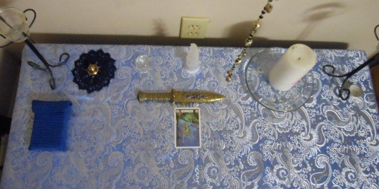 spiritual altar pagan