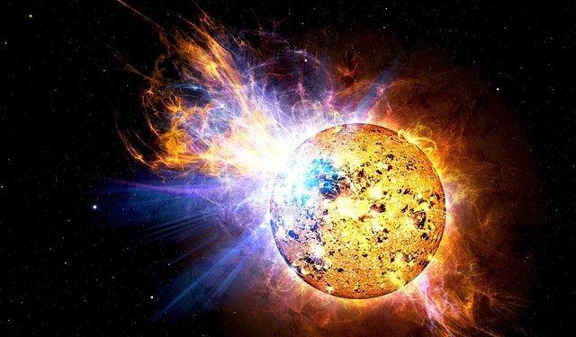 sun planet universe space