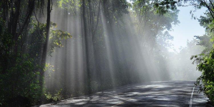 Sun Road Light Random - Image: Public Domain, Pixabay