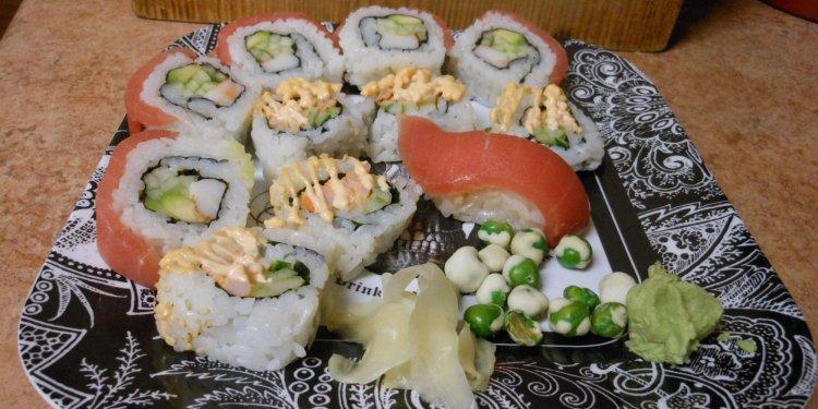 Sushi Food - Image: © Briana Blair