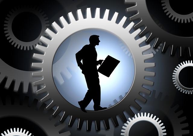 Work Gear Business Success - Image: Public Domain, Pixabay