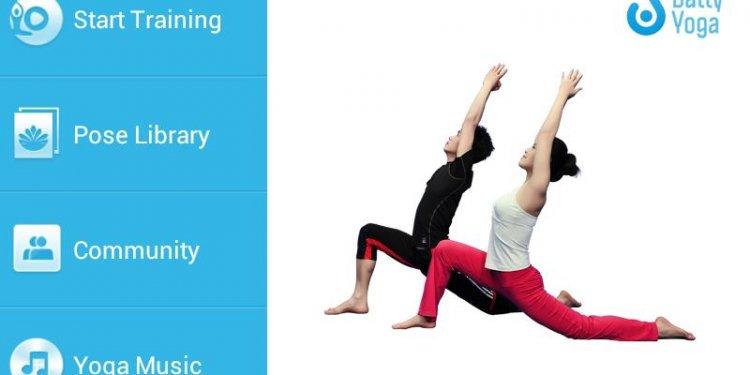 yoga daily pose people app