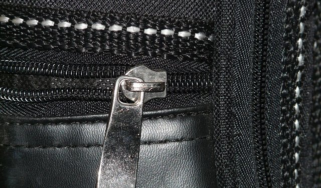 Zipper - Image: Public Domain, Morguefile