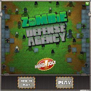 Screenshot: Zombie Defense Agency