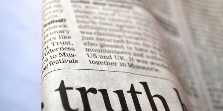 truth honest word newspaper Image: Public Domain, Pixabay