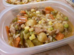 Beef Barley Soup Food