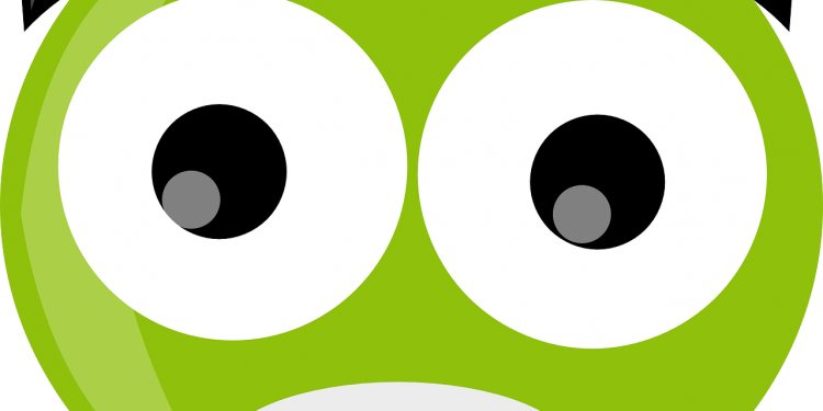 Shocked Face Smiley - Image: Public Domain, Pixabay