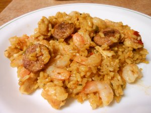 Shrimp Jambalaya Food