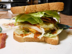 Turkey Burger Sandwich Food