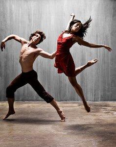 Ballet Dancers Man Woman People