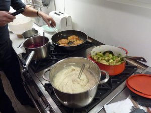 Cooking Stove Food Preparation Pots