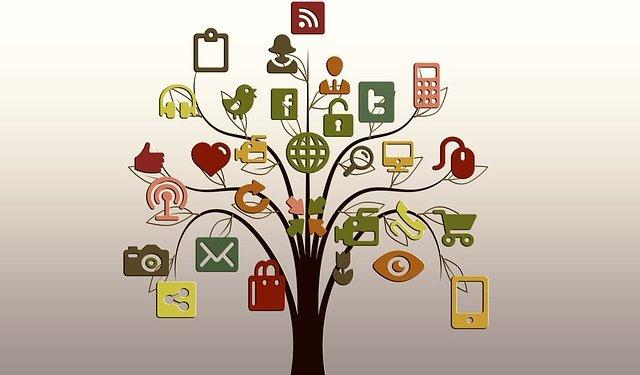 Internet Tree Icons Media - Image: Public Domain, Pixabay