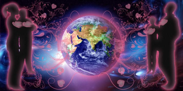 love energy earth wallpaper