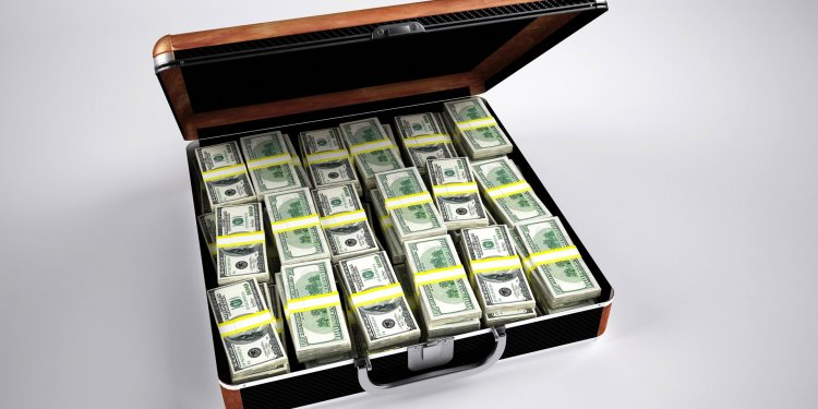 Money Cash Wealth Briefcase