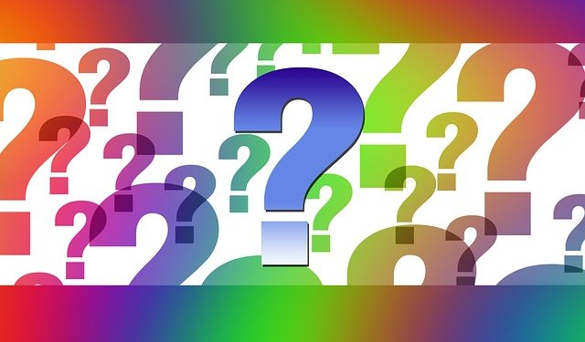 Question Marks - Image: Public Domain, Pixabay