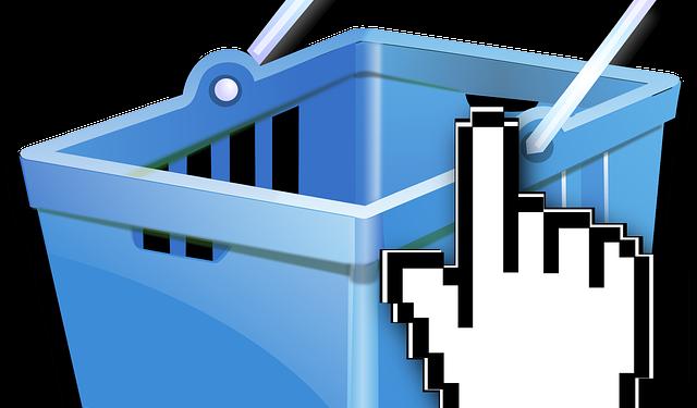 Shopping Basket Hand Click - Image: Public Domain, Pixabay