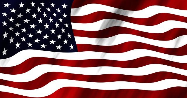 United States America Flag - Image: Public Domain, Pixabay