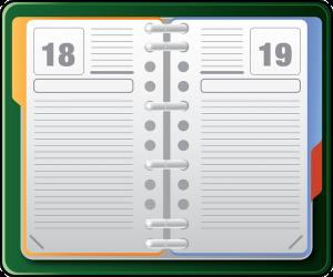 Agenda Calendar - Image: Public Domain, Pixabay