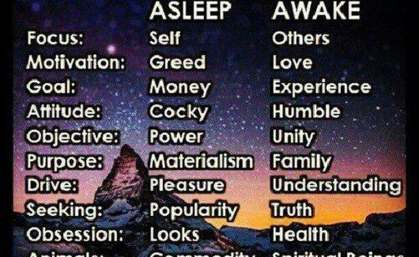 asleep awake spiritual focus pinterest